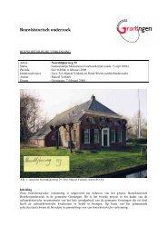 Noorddijkerweg 29 verkenning boerderij, Verkerk 2004 - Gemeente ...