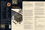 Tillbyggnad - XL Bygg