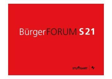 16. Juni 2012 - Bürgerforum Stuttgart 21