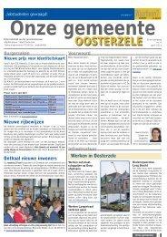 april 2013 - Gemeente Oosterzele