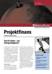 Projektfinans nr 5 Juni 2004 - GIA Sweden AB