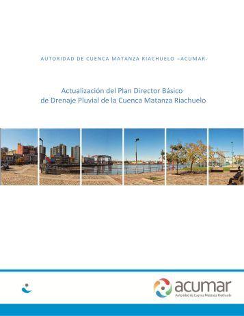 Actualización del Plan Director Básico de Drenaje Pluvial ... - Acumar