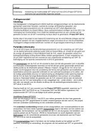 Collegevoorstel Inleiding: Feitelijke informatie: - Gemeente Heusden