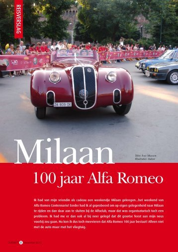 100 jaar Alfa Romeo - Varln