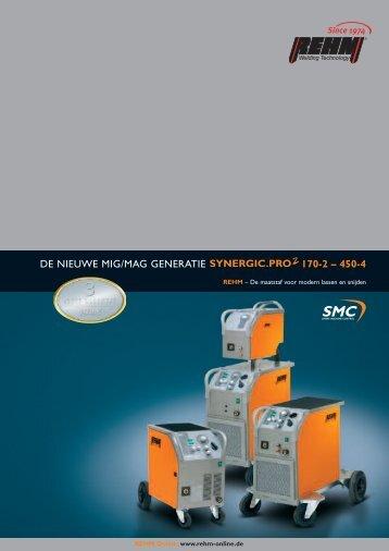 DE NIEUWE MIG/MAG GENERATIE 170-2 – 450-4 - Rehm