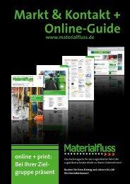 Online-Guide Markt & Kontakt + - materialfluss.de