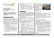 """Projectoproep 2008 """"Voorbeeldgebouwen, Energie ... - IBGE"""