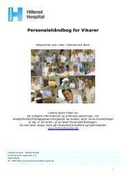 Personalehåndbog for Vikarer