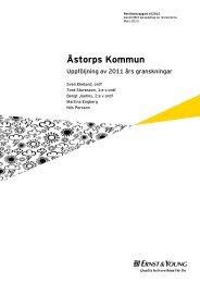 Uppföljning 2011 års granskningar...pdf - Åstorp