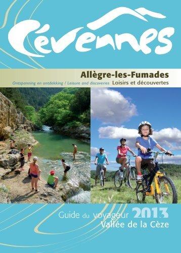 Guide du voyageur Vallée de la Cèze Allègre-les-Fumades