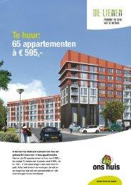 Brochure 65 appartementen à € 595 - Ons Huis