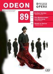 Odeon 89 (PDF) - start - De Nederlandse Opera