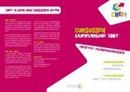 Crefi cursussen (975 KB) - Gezinsbond Gewest Brugge