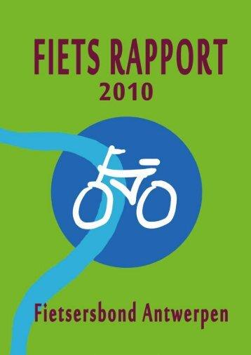 Fietsrapport Antwerpen 2010 - Met de fiets in 't Stad