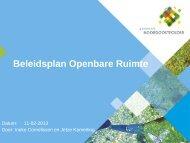 Plan gemeentelijke herinrichting Planetenwijk Emmeloord ... - Raad