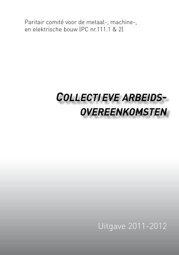 Collectieve arbeidsovereenkomsten PC voor de metaal ... - Aclvb