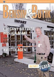 Bensin&Butik nr 1 2013 - Svensk Bensinhandel