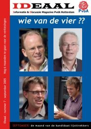 IDeaal september 2005 - PvdA Rotterdam