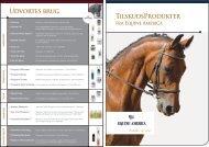 Udvortes brug TilskudsProdukter - Equine America