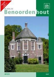 2012/3 - Wijkvereniging Benoordenhout