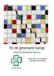 För ett gemensamt Sverige - Centerpartiet i Stockholms län