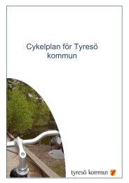 9 Cykelplan.pdf - Tyresö kommun