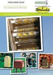 Download hier de catalogus in het Nederlands - Waveka - Nestkasten