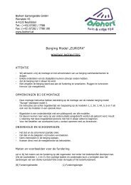 Opbouwbeschrijving berging Europa - Biohort