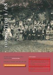 Tussentijds voorjaar 2008 - Stichting De Werkende Mens