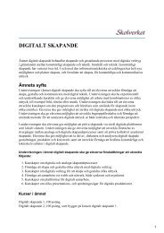 DIGITALT SKAPANDE
