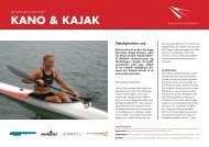 KANO & KAJAK - Dansk Kano og Kajak Forbund
