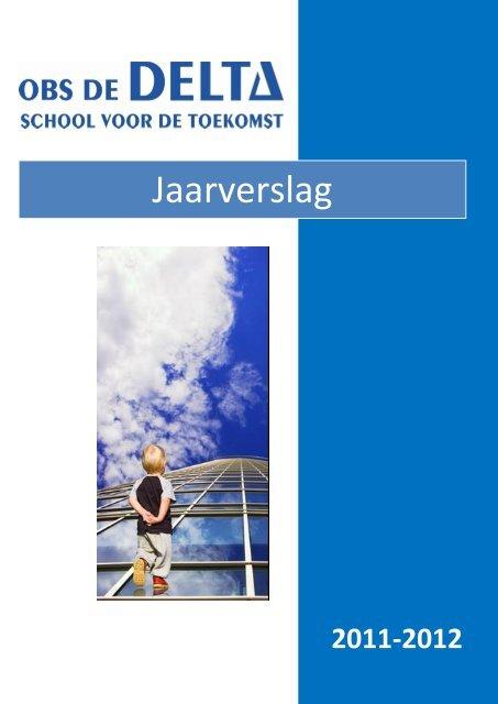 Jaarverslag OBS De Delta 2011-2012
