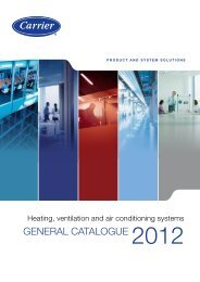 GENERAL CAtALoGuE 2012 - Cold System