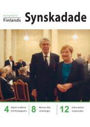 pdf-fil - Förbundet Finlands Svenska Synskadade rf