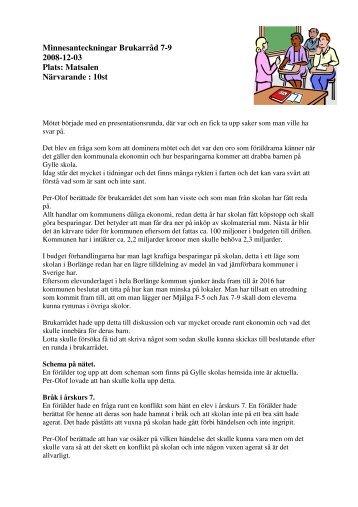 081203 brukarråd 7-9.pdf - Borlänge kommun