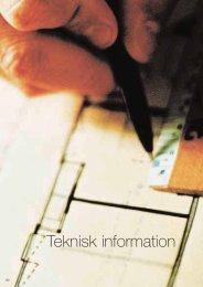 Teknisk information - Formica