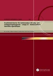 Bottenaskors tekniska egenskaper - Svenska EnergiAskor AB