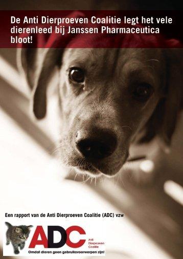 Janssen drugtesten - Anti Dierproeven Coalitie