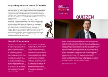 Quizzen - Openbaar Ministerie
