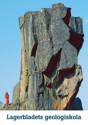 Öppna pdf med Lagerbladets geologiskola - SKB