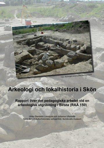 Arkeologi och lokalhistoria i Skön - Norra Berget