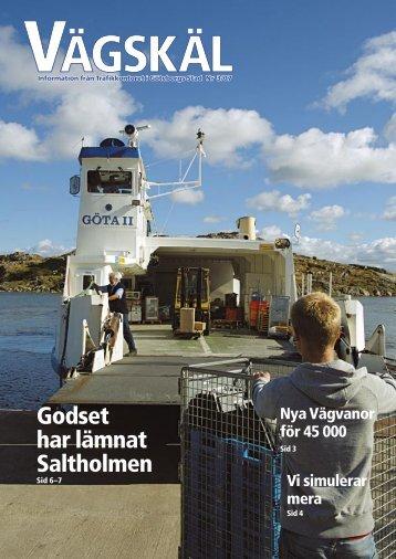 Godset har lämnat Saltholmen - Göteborg