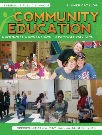 63571 FBO CommEd Pages.indd - Faribault Public Schools
