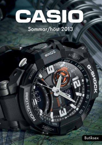 Casio Katalog Sommar/Höst 2013 - Ketonic