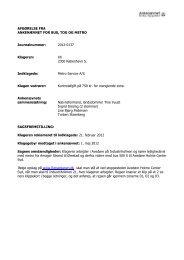 Afgørelse 2012-0137, 10. oktober 2012 - Ankenævnet for Bus, Tog ...
