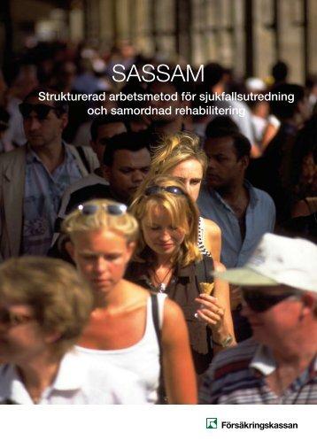 SASSAM - en presentation - Försäkringskassan