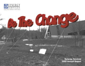 Synergy Services 2009 Annual Report
