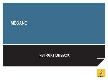 Ladda ner instruktionsbok för Nya Megane - Renault
