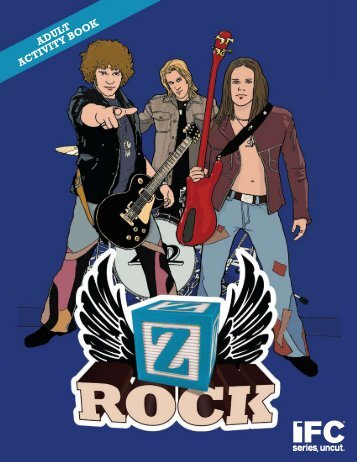 """Z Rock"" Promotional Activity Book - John Sicoransa"