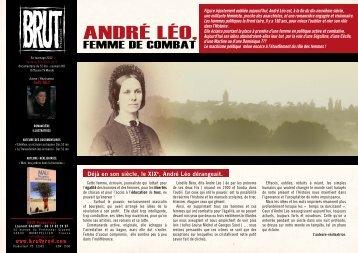 André Léo, - Brut Productions